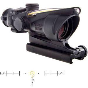 Trijicon ACOG TA31H-A 4x32 Riflescope Illuminated Amber Horseshoe Dot .223 Ballistic Reticle Forged Aluminum Matte Black TA31H-A