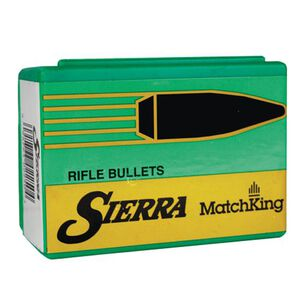 "Sierra 8mm Caliber .323"" Diameter 200 Grain MatchKing Hollow Point Boat Tail Bullets 100 Count 2415"