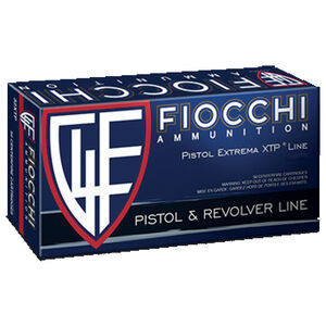 Fiocchi Extrema XTP Line .25 ACP Remington Ammunition 50 Rounds 35 Grain XTP JHP Projectile 900 fps