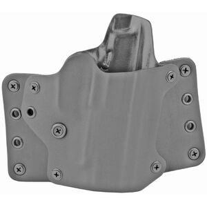 BlackPoint Tactical Leather Wing OWB Holster for Sig P365XL Right Hand Black Kydex & Leather