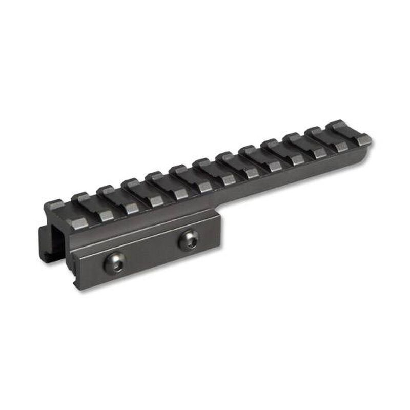 "Lion Gears AR-15 Picatinny .75"" Cantilever Riser Mount 5"" Long Aluminum Black BM1207EX"