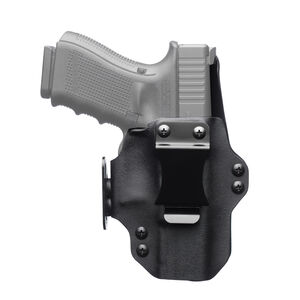 "BlackPoint Dual Point 1911 Ultra Compact 3"" Barrel AIWB Holster Belt Clip Right Hand Kydex Black"