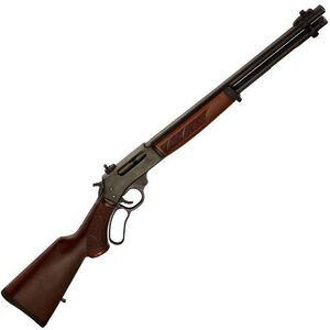 "Henry .45-70 Lever Action Rifle .45-70 Government 18.43"" Round Barrel 4 Rounds Walnut Stock and Forend Steel Receiver Blued H010"