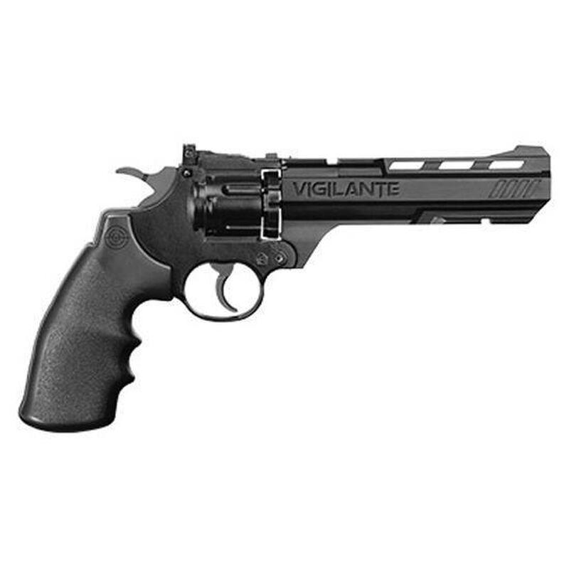 Crosman Vigilante CO2 Air Pistol Revolver Steel Black CCP8B2