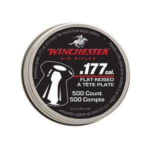 Winchester .177 Caliber Flat Nose Pellets 500 per pk 6pk Carton