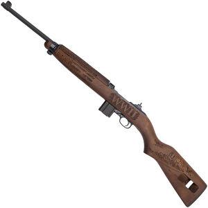 "Auto-Ordnance Vengeance M1 Carbine .30 Carbine Semi Auto Rifle 18"" Barrel 15 Rounds WWII Tribute Engraved Walnut Stock Parkerized Finish"