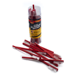 Shooter's Choice Red All Purpose White Nylon Brushes Pack of 20 SHF-316R-20
