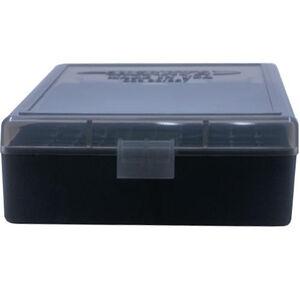 Berry's 003 Ammo Box .38/.357 100 Round Polymer Smoke/Black