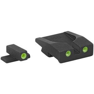 Meprolight Tru-Dot Fixed Tritium Night Sight Set Green/Green Springfield XDM and XDS