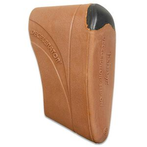 Pachmayr Decelerator Recoil Pad Slip on Softens Recoil Small Brown 04418