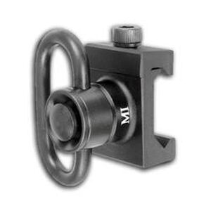 Midwest Industries AR-15 Quick Detach Heavy Duty Front Sling Swivel Adapter Picatinny Black MCTAR-08HD