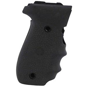 Hogue Grip With Finger Grooves Sig P226 Rubber Cobblestone Black 26000