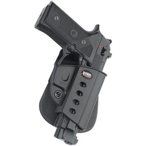 Fobus Evolution Paddle Holster Beretta 92/Taurus PT92 Right Hand Polymer Black BRV