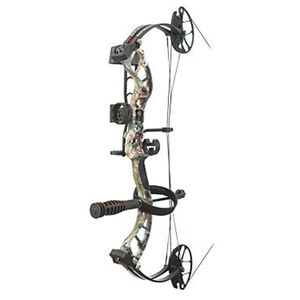 """PSE Uprising Youth Bow Kit 14""""-30"""" Draw Length 15-70# Draw Weight Right Hand Mossy Oak Country"""