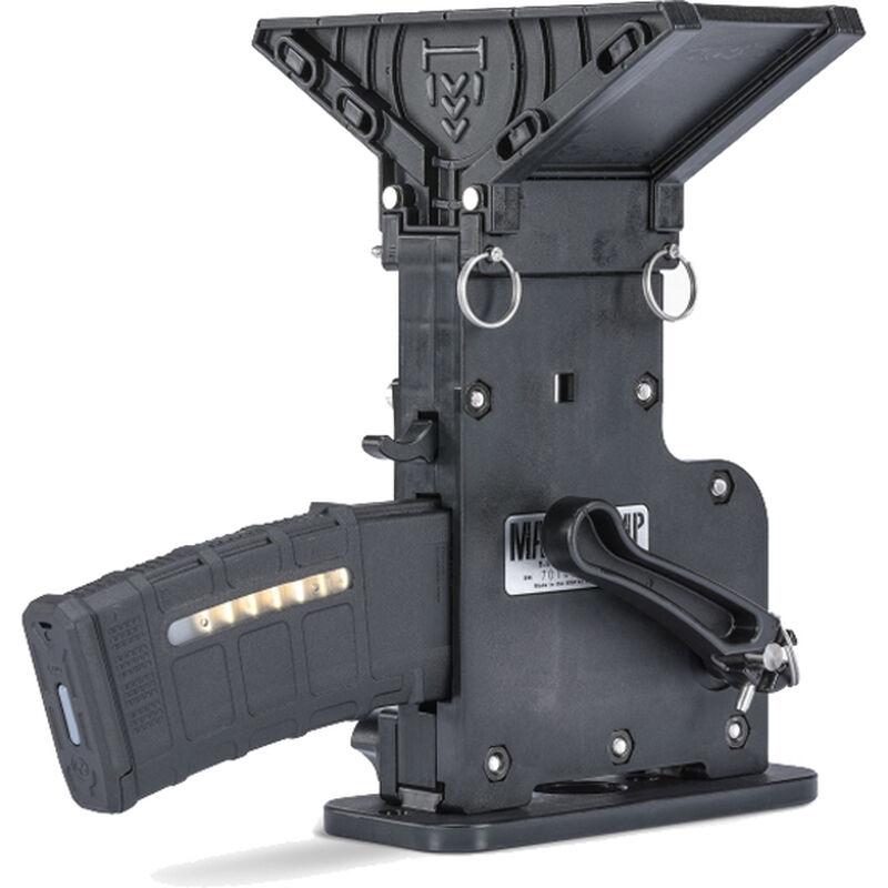 MagPump AR-15 Magazine Loader .223 Rem/5.56 NATO 60 Round Hopper Polymer Black MP-AR15