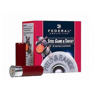 """Federal 12 Gauge Ammunition 250 Rounds 2.75"""" #7 Steel 1 oz."""