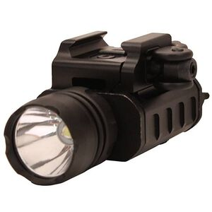 Leapers UTG LED Weapon Light Compact QD Lever Lock 400 Lumens Aluminum Black LT-ELP223Q-A