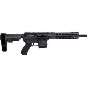 "Alexander Arms P-50 Highlander .50 Beowulf AR-15 Semi Auto Pistol 12"" Barrel 7 Rounds Mil-Spec Trigger Manticore Freefloat Handguard Adjustable SB Tactical Pistol Brace Gray Finish"