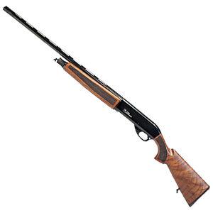 "Iver Johnson IJ500-12 12 Gauge Semi-Auto Shotgun 28"" Barrel 3"" Chamber 5 Rounds Bead Front Sight Walnut Stock Black Finish"