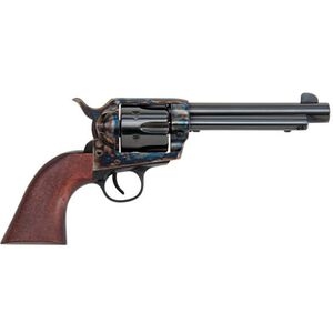 "Traditions Frontier Series 1873 Single Action Revolver .44 Remington Magnum 5.5"" Barrel 6 Rounds Case Hardened Frame Walnut Grips Blue SAT73-801"