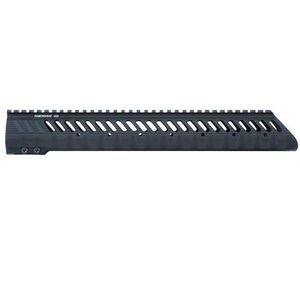 "Diamondhead VRS T-308 Low LR-308 Threaded Free Float Handguard 13.5"" Aluminum Black 2352"
