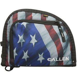 Allen Handgun Case Zip Up American Flag Lockable