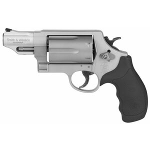 """S&W Governor .410 Gauge, .45 ACP, .45 Colt Revolver 2.75"""" Barrel 6 Rounds Synthetic Grip Matte Silver Finish 160410"""