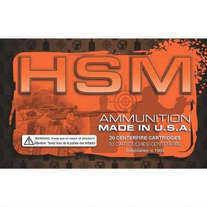 HSM Training 10mm Auto Ammunition 50 Rounds 180 Grain FMJ 1150 fps