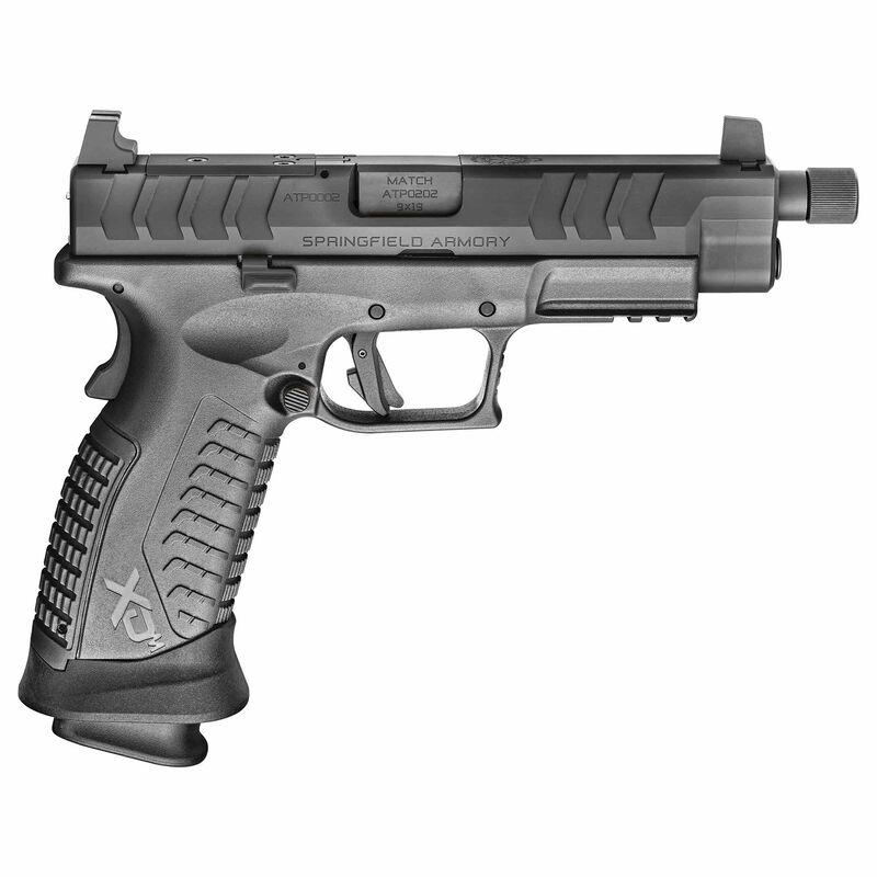 "Springfield Armory XD-M Elite Tactical OSP 9mm Luger Semi Auto Pistol 4.5"" 22 Round Optics Ready Black"