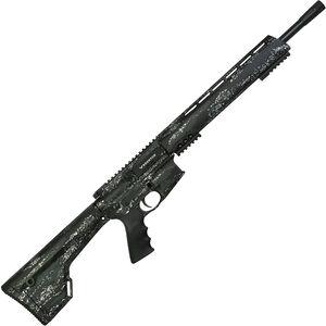 "Brenton USA Ranger Carbon Hunter .450 Bushmaster AR-15 Semi Auto Rifle 18"" Barrel 5 Rounds Free Float Handguard Fixed Stock Foliage Camo Finish"