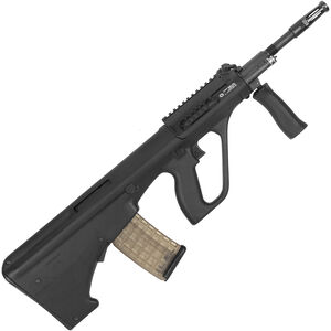 "Steyr AUG A3 M1 Semi Auto Rifle 5.56 NATO 16"" Chrome Lined Barrel 30 Round AUG Pattern Magazine with Short Rail Matte Black Finish"
