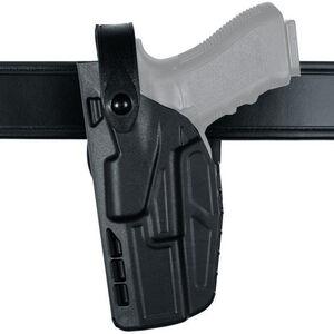 "Safariland Model 7280 SIG Sauer P320C 9mm/40 3.9"" Barrel 7TS SLS Mid Ride Duty Belt Holster Left Hand SafariSeven STX Plain Black"