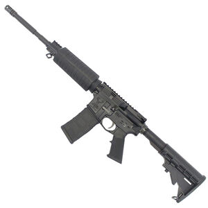 """Stag Arms STAG-15 ORC Semi Auto Rifle 5.56 NATO 16"""" Barrel 30 Rounds Polymer Hand Guard Mil-Spec 6 Position Buttstock Left Hand Action Matte Black Finish"""