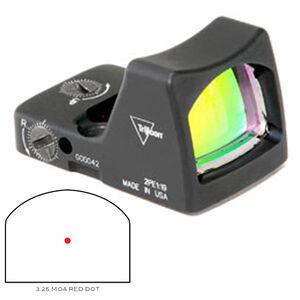 Trijicon RMR LED Sight 3.25 MOA Red Dot No Mount Black RMR 700600