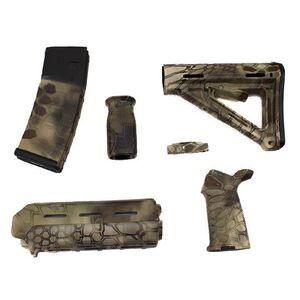 Matrix Diversified Industry AR-15 Magpul Furniture Kit Commercial Polymer Highlander MAGCOM47HL