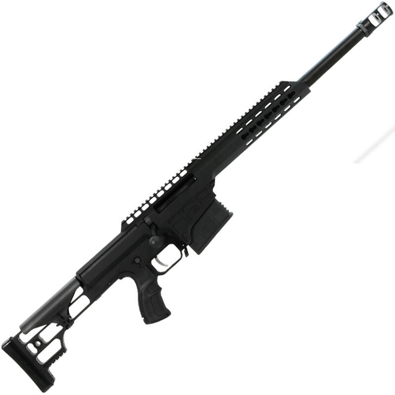 "Barrett Model 98B Tactical Bolt Action Rifle .308 Win 16"" Heavy Barrel 10 Rounds M1913/Picatinny Rail Adjustable Cheek Piece Black 14800"