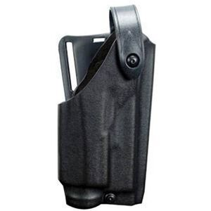 Safariland 6280 SLS Mid-Ride Holster Glock 19, 23 w/Light Level 2 Retention Right Hand SafariLaminate STX Tactical Black 6280-2832-131