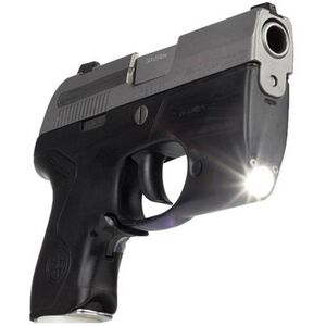 Lasermax Beretta Pico Frame with LED Weapon Light 75 Lumen 1 CR2 Battery Polymer Black 7-JFPPY