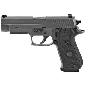 "SIG Sauer P220 Legion Full Size .45 ACP Semi Auto Pistol 4.4"" Barrel 8 Rounds X-Ray3 Sights SIG Rail Steel Alloy Frame Cerakote Elite Legion Gray Finish"
