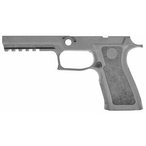 SIG Sauer P320X5 Full Size Grip Module Kit Polymer Grip Frame Gray Finish