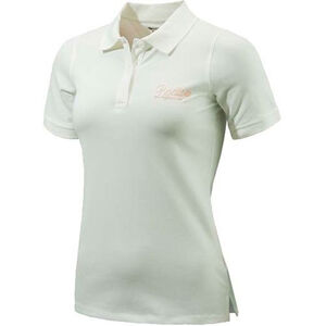 Beretta Special Purchase Women's Corporate Polo Short Sleeve Small Cotton White