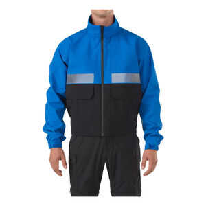5.11 Tactical Bike Patrol Polyester Jacket 2 Extra Large Royal Blue 45801