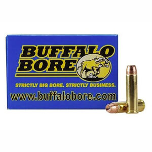 Buffalo Bore Tactical Short Barrel .357 Magnum Ammunition 20 Rounds JHP 158 Grains 19E/20