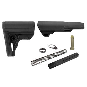UTG PRO AR-15 Ops Ready S4 Mil-spec Stock Kit Black RBUS4BM