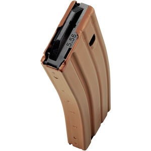 C Products Defense AR-15 5.56 NATO Magazine 30 Rounds Aluminum Construction Burnt Bronze Finish