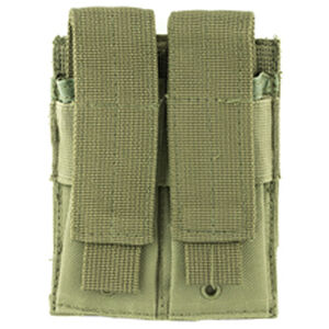 NcStar Double Pistol Magazine Pouch Nylon Green
