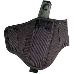 Uncle Mike's Ambidextrous Super Belt Slide Holster for Large-Frame Autos, Nylon, Black
