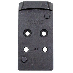 CZ-USA Red Dot Sight Mount fits CZ-USA P10 Optics Ready Pistols Leupold DPP Footprint Steel Black