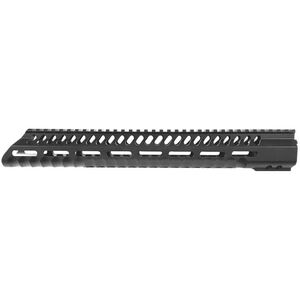 "Diamondhead USA VRS T-556 M-LOK Series-3 Free Floating Handguard 10.25"" M-LOK Compatible Aluminum Black Anodized Finish"