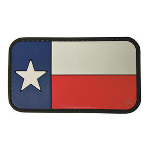 "5ive Star Gear PVC Morale Patch Texas Flag 2"" x 3"""